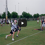 Lax Camps - Lacrosse Drills - Attacking From Behind Goal Play Button