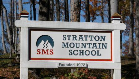 Stratton School Sign