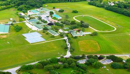 Lax Camps - Boys Lacrosse Camps - The Phelps Aerial-View-Of-Field-And Campus