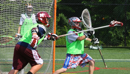 Lacrosse Camps Goalie Training