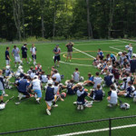 Lax Camps - Lacrosse and Leadership Training Player Huddle