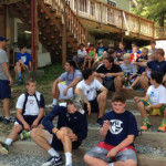 Lax Camps - Lacrosse and Leadership Training Stairs