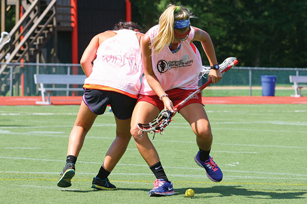 Lacrosse Camps - Lax Drills - Fighting for Groundball