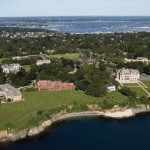 Girls Lax - Salve Regina University Aerial View