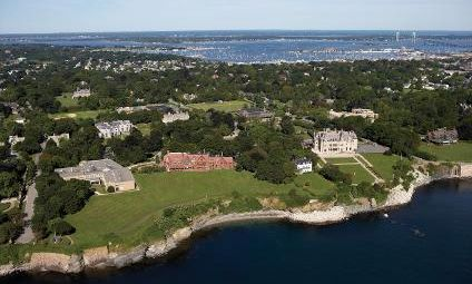 Girls Lax - Salve Regina University Aerial View