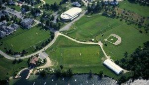 Aerial View Brewster Academy Lacrosse Camp