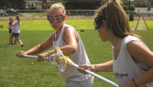 Lacrosse Camps - Girls Lax Faceoff Training